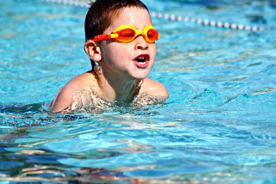 usar gafas de natacion